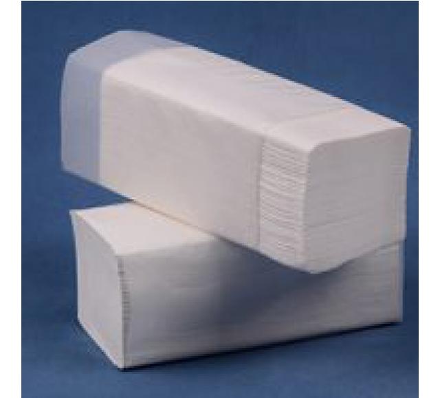 Z Hajtogatású papírtörlő 2 rét. 200 lap fehér