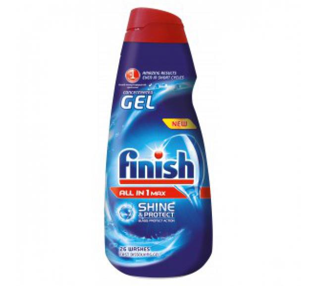 Finish all in mosogatógép gél 2x650 ml