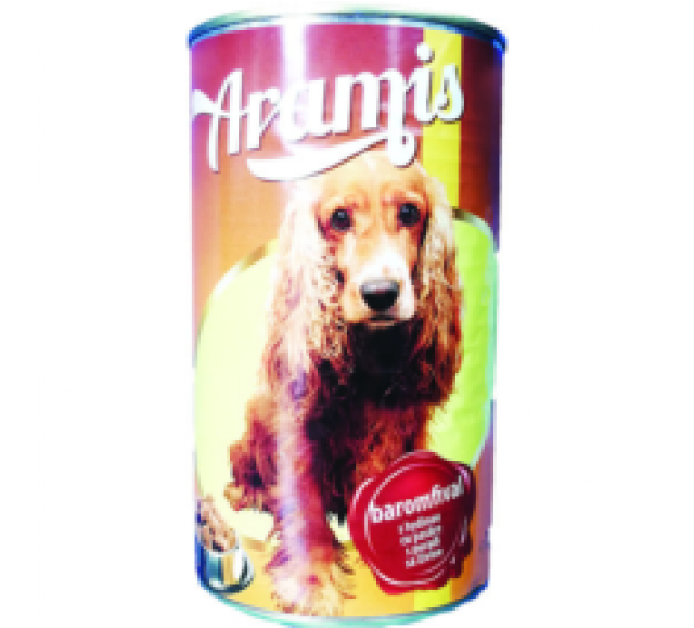 Aramis kutyaeledel 1240 g konzerv csirke