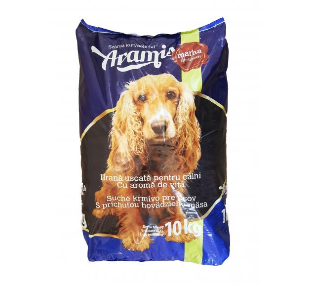 Aramis kutyaeledel 10 kg száraz Marha