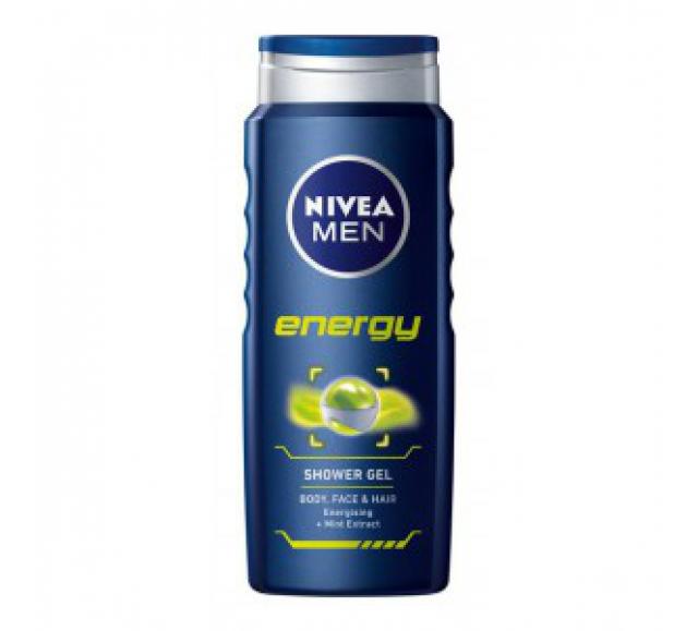 NIVEA tusfürdő 500ml Energy for Men