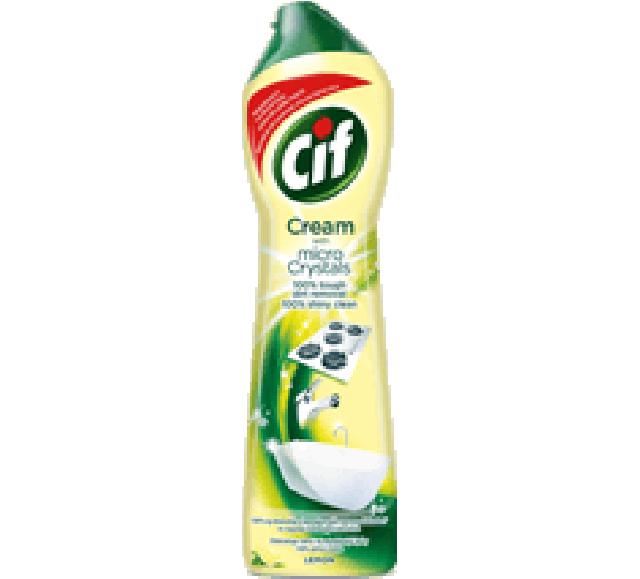 CIF súrolókrém 500ml Lemon