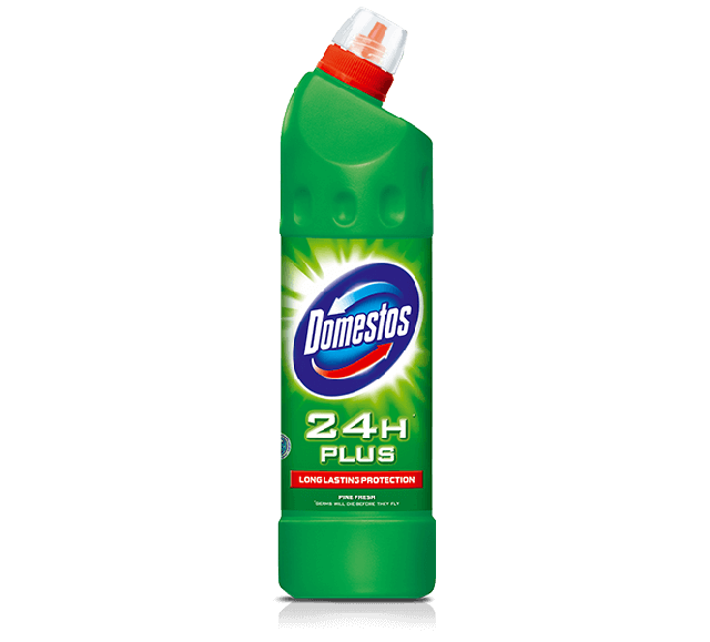 DOMESTOS 24H PLUS fertőtl.750ml Pine