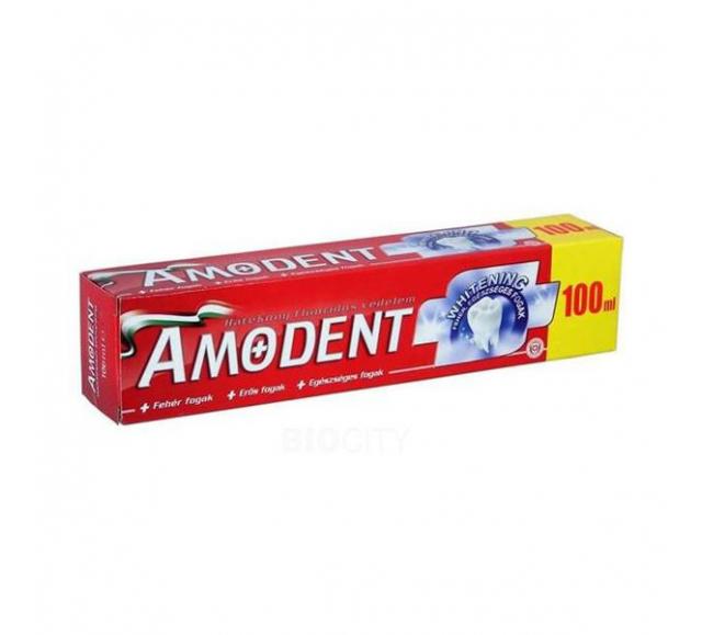 AMODENT fogkrém 100ml Whitening