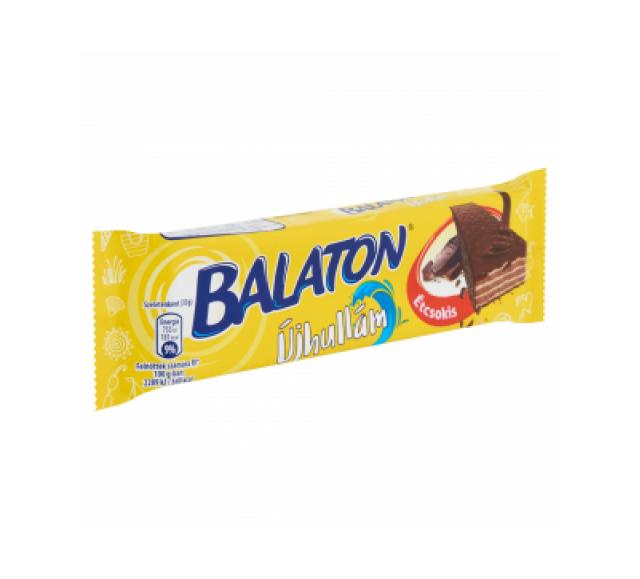 Balatonostyaszelet 33 g étcsokis újhullám