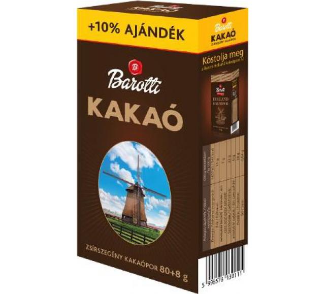 Barottikakaópor 88 g
