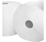 Ipari papírtörlő 26/30 cm 2 rét.Fehér, ragasztott