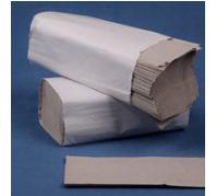 Z  Hajtogatású papírtörlő 1 rét. 250 lap natúr, 23x25cm