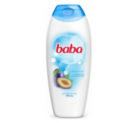 BABA tusfürdő 400ml Szilva