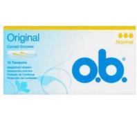 O.B. Tampon 16db-os normál original Blossom