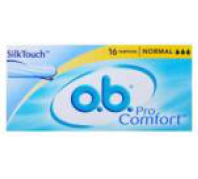 O.B. Tampon 16db-os procomfort normal Blossom