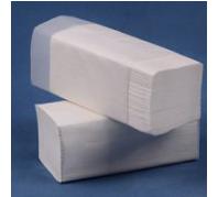 Z-Z  Hajtogatású papírtörlő 2 rét. 150 lap fehér cell