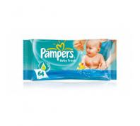 Pampers törlőkendő Freshscent 64db
