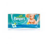 Pampers törlőkendő Unscented 64db