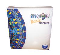 Maya Basic szalvéta 29x29  70 lap 100 % cell 1 réteg Nass