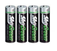 Sky Green AAA  féltartós elem 4 db R03G/4