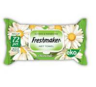 Freshmaker EKO 72db-os nedves törlőkendő
