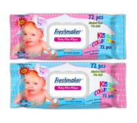 Freshmaker KISS 72db-os nedves törlőkendő fedeles