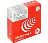 Rako óvszer erotic no.1 bordázott 3 db-os
