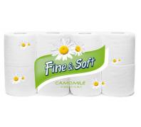 FINe & Soft Camomille Toalett papír 8 tek.3rét.