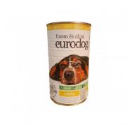 Euro Dogkutyaeledel 1240 g konzerv csirkés