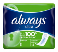 Always Intim betét Ultra Normal Plus 12