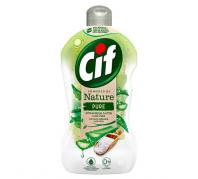 CIF kézi mosogatósz.450ml flakon Natur Pure