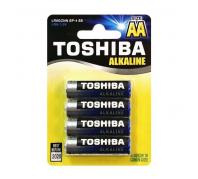 Toshiba alkáli elem LR6 BP4 AA/4db