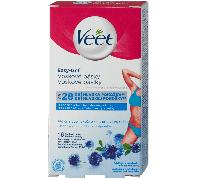 Veet Használatra kész hideggyanta szalagok érzékeny bőrre 12 db (mandulaolajjal)