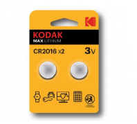 Kodak Ultra Lithium Gombelem CR2016 (3V) B2