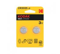 Kodak Ultra Lithium Gombelem CR2025 (3V) B2