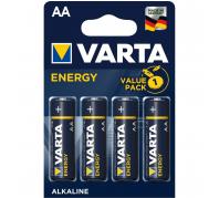 Varta Energy Alkáli Ceruza Elem AA (1,5V) B4