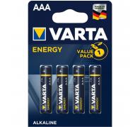 Varta Energy Alkáli Micro Elem AAA (1,5V) B4
