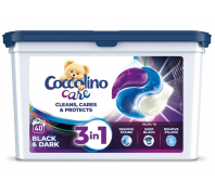 COCCOLINO Care mosógkapszula 40 db Black