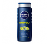 NIVEA tusfürdő 500ml Energy for Men