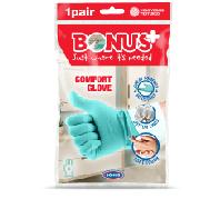 Bonus+ Komfort Gumikesztyű Glove S