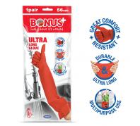 Bonus+ Ultra hosszú Gumikesztyű Glove (56cm)