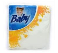 Baby 50 db-os 33x33 cm 1 réteg 100% cellulóz színes mintás