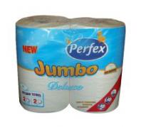 Perfex kéztörlő JUMBO Deluxe 2 tek. 2 rét. 200lap