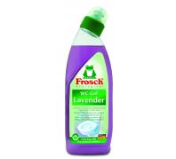 Frosch WC tisztító gél levendulás 750ml