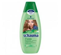 Schauma sampon 7 gyógynövény (lelapulás ellen, zsíros hajra) 250ml