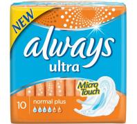 Always Intim betét Ultra Normal Plus 10