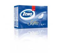 Zewa Softis 4 rétegű papír zsebkendő normál 6 x 10 db