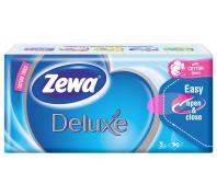 Zewa Deluxe 3 rétegű papír zsebkendő 90db normál