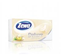 Zewa Deluxe 3 rétegű papír zsebkendő 90db Spirit of Tea