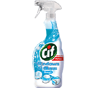 CIF ablaktisztító spray 750ml Blue