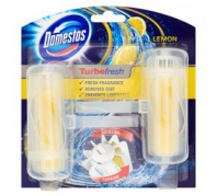 DOMESTOS Turbo Fresh WC rúd 2x32g Lemon