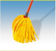 Vileda Gyorsfelmosó Soft (sárga) 30% mikroszállal nyeles