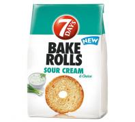 7 D Bake Rollskenyércsipsz 80 g. hagymás-tejfőlös