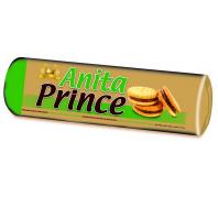 Anita Princekeksz 125 g mogyoró ízű krémmel